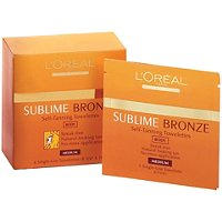 L'OrealSublime Bronze Self-Tanning Towelettes