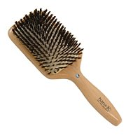 Hana K.Diamond Wood Boar Bristle Square Cushion Brush