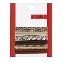 ElleAnimal Print No Crimp Elastics 6 Ct