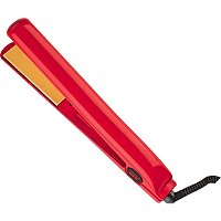 Red 1 Inch Ceramic Flat Iron
