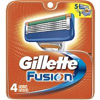 GilletteFusion Cartridge 4 Ct