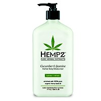 HempzCucumber and Jasmine Herbal Moisturizer