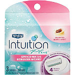 SchickIntuition Plus Advanced Moisture Cartridge 3 Ct