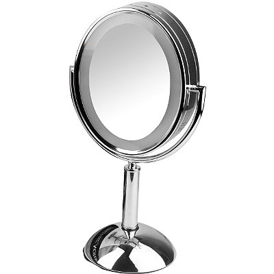 revlon perfect touch lighted oval mirror cosmetics fragrance sal. Black Bedroom Furniture Sets. Home Design Ideas