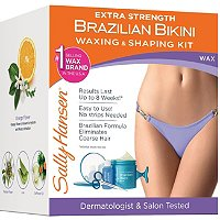 Sally HansenExtra Strength Brazilian Bikini Waxing & Shaping Kit
