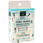 Earth TherapeuticsTea Tree Oil Foot Wipes