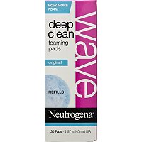 NeutrogenaWave Deep Clean Foaming Refill Pads 30 Ct