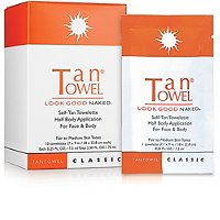 Tan TowelClassic Half Body Application