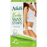 Nads NaturalLarge Hair Removal Strips 24 Ct