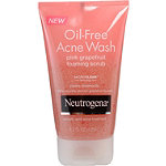 NeutrogenaPink Grapefruit Oil Free Acne Scrub