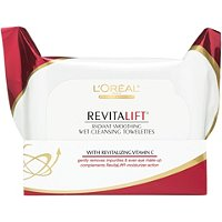 L'OrealRevitalift wet cleansing towelettes