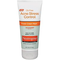 Oil-Free Acne Stress Control Power-Cream Wash