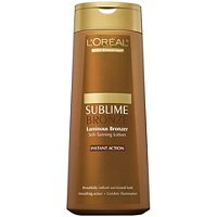 L'OrealBody Expertise Sublime Bronze Luminous Bronzer Self-Tanning Lotion