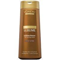 Body Expertise Sublime Bronze Luminous Bronzer Self-Tanning Lotion