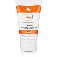 Tan TowelTan Towel On the Glow Daily Self Tanning Face Moisturizer
