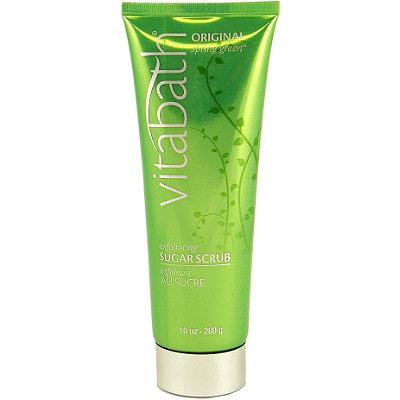VitabathOriginal Spring Green Exfoliating Sugar Scrub