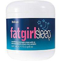 Fat Girl Sleep