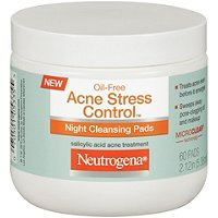 Oil-Free Acne Stress Control Night Cleansing Pads
