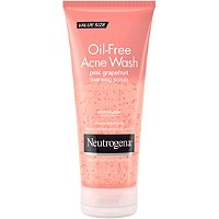 Oil-Free Acne Wash Pink Grapefruit Foaming Scrub