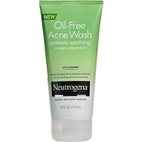 NeutrogenaAcne Wash Redness Soothing Facial Cream Cleanser