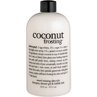 PhilosophyCoconut Frosting 3-in-1 Shampoo,Body Wash, and Bubble Bath