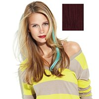 Human Hair Color Strips Extensions