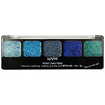 NYX Glitter Cream Palette Ocean Breeze