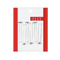 Flower Hair Pins 6 Ct