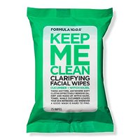Formula 10.0.6Keep Me Clean Purifying Facial Wipes 25s