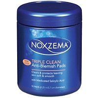 NoxzemaTriple Clean Anti-Blemish Pads 90 Ct