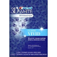 3D White Whitestrips Vivid Teeth Whitening System - 10 ct