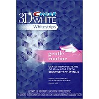 Crest3D White Whitestrips Gentle Routine - 10 ct