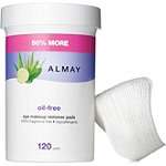 AlmayOil-free Eye Makeup Remover Pads - 120ct