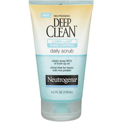 NeutrogenaDeep Clean Long Lasting Shine Control Scrub