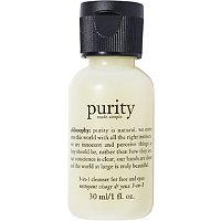 FREE! Purity Made Simple One-Step Facial Cleanser 1 oz w/any $20 Philosophy purchase