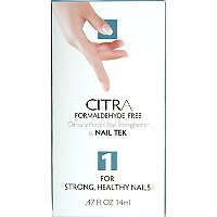 Nail TekCitra I Formaldehyde Free for Strong, Healthy Nails