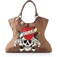 FREE! tote w/any $75.00 Ed Hardy women fragrance purchase