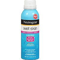 Wet Skin Sunblock Spray