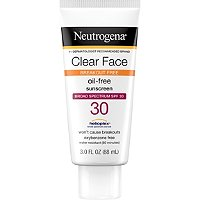 NeutrogenaClear Face Liquid-Lotion Sunblock