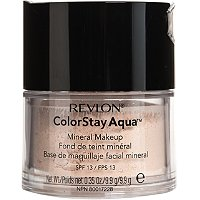 best drugstore makeup brand mineral foundation Revlon ColorStay Aqua Mineral Makeup