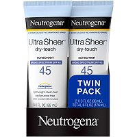 Ultra Sheer SPF 45 Twin Pack