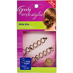 GoodySpin Pin Hair Coil Brown/Blond