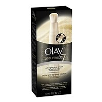 OlayTotal Effects Anti-Aging Eye Cream Line and Dark Circle Minimizing Brush