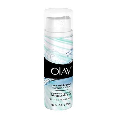 OlayPore Minimizing Cleanser + Scrub