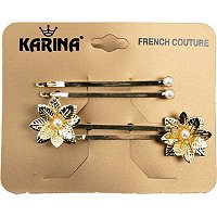 Karina4 Count Decorative Bobby Pins