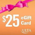 ULTA$25 eGift Card - if you select an eGift Card you will be taken to the login page