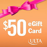 ULTA$50 eGift Card - if you select an eGift Card you will be taken to the login page