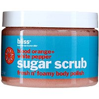 BlissBlood Orange + White Pepper Sugar Scrub