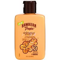 Hawaiian TropicTravel Size Shimmer Effect Sunscreen Lotion