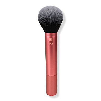 Real Techniques Eye Shade + Blend Duo includes: Base Shadow Brush: finely tapered bristles allow for buildable, all-over lid application of color. Deluxe Crease Brush: the soft, oversized design is perfect for effortless blending in the crease/5().